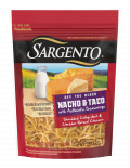 Sargento® Shredded Nacho & Taco Natural Cheese with Authentic Seasonings