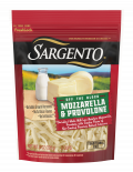 Sargento® Shredded Mozzarella & Provolone with Natural Smoke Flavor Natural Cheeses