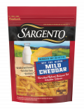 Sargento® Shredded Reduced Fat Mild Natural Cheddar Cheese