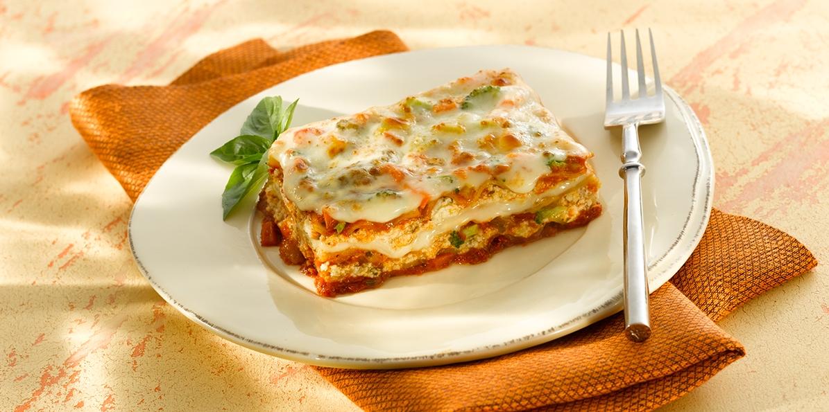 Easy Pesto Vegetable Lasagna