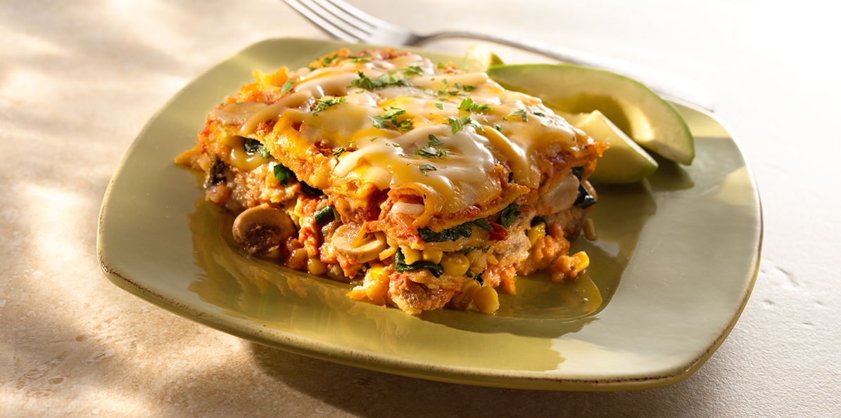 Tortilla Lasagna