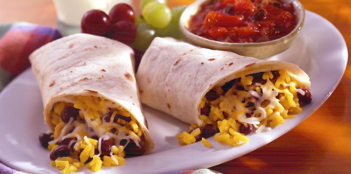 Easy Meal Burritos