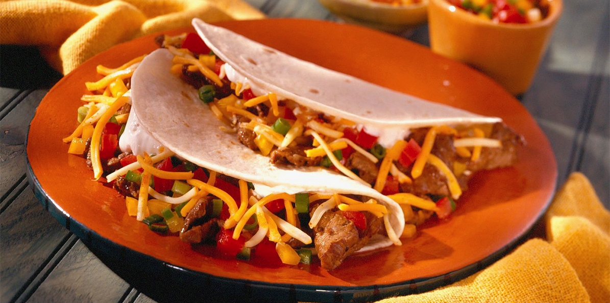 Steak Tacos with Fresh Salsa