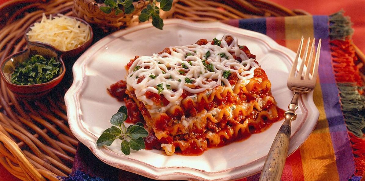 Kay's Cheesy Lasagna