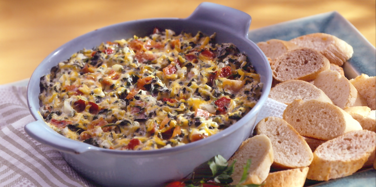 Vidalia Onion Spinach Dip