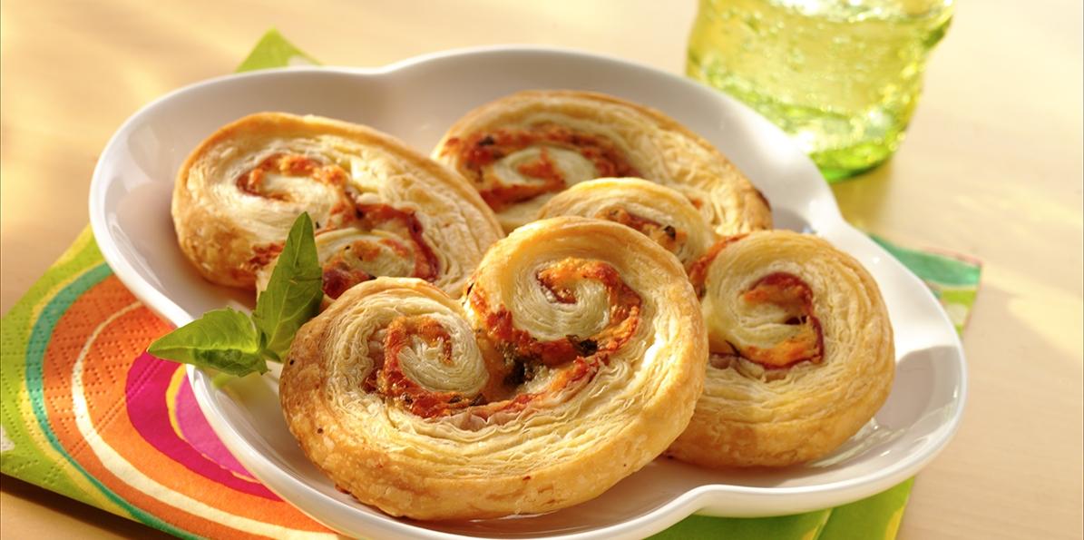 Italian Palmier Appetizers
