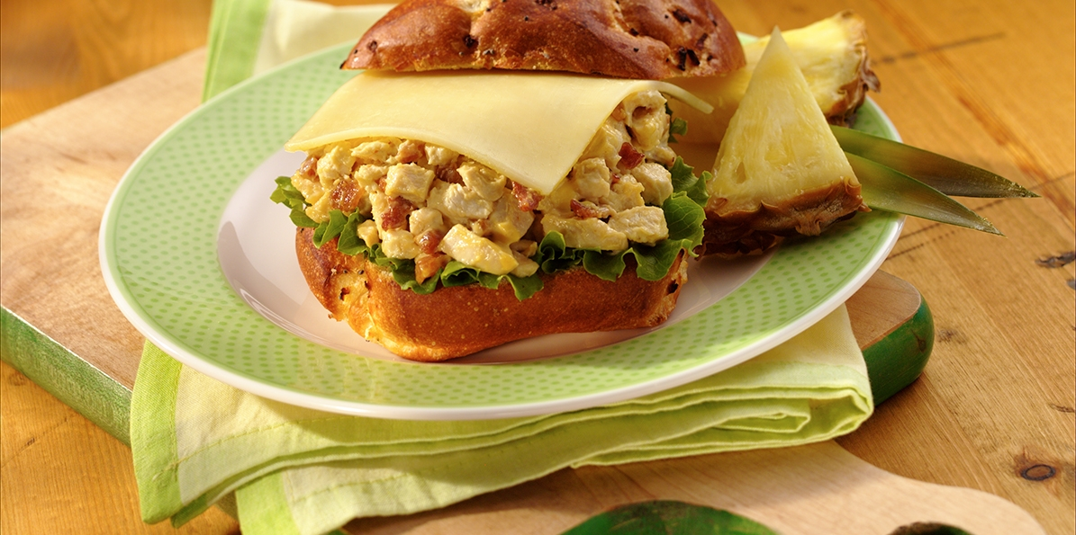 Chicken Salad Sandwiches with Muenster