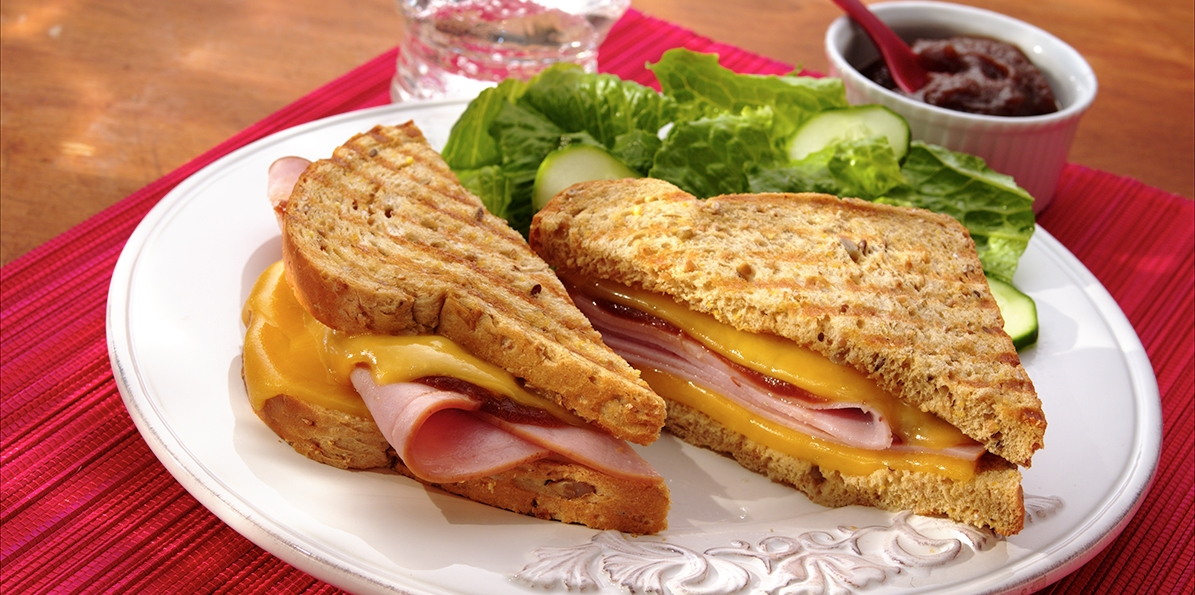Ham & Gouda Panini