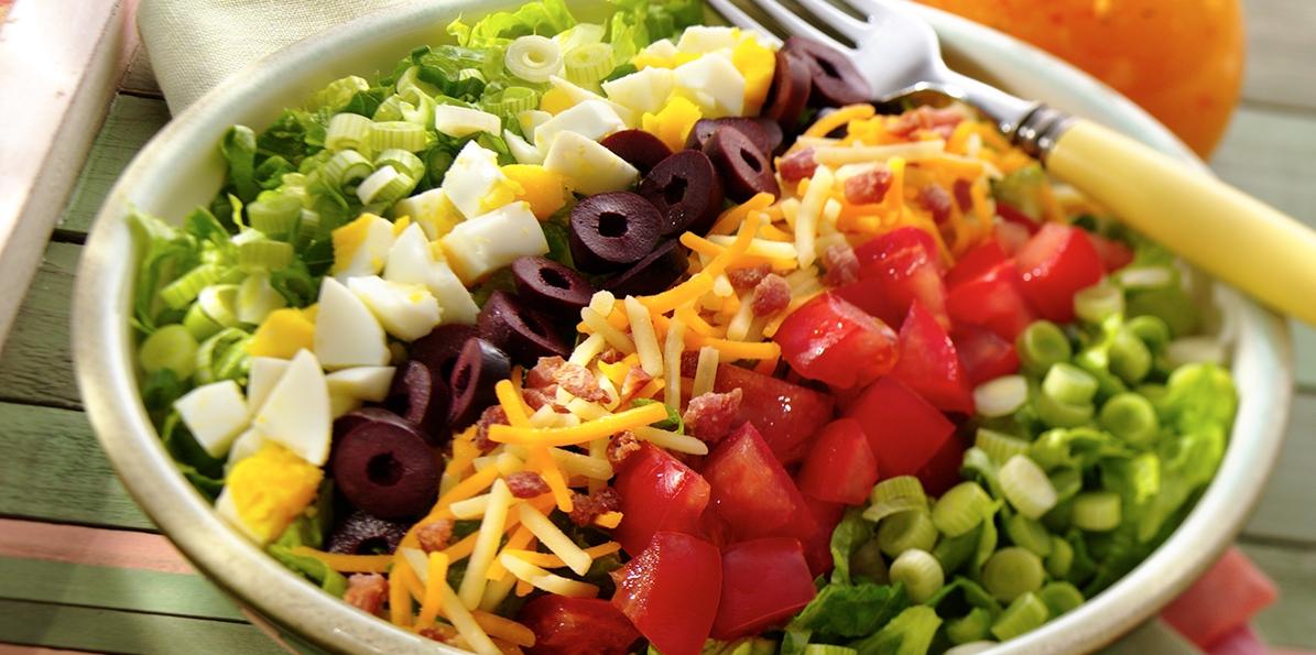 Cheddar BLT Cobb Salad