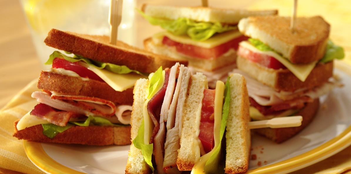 Havarti Club Sandwiches