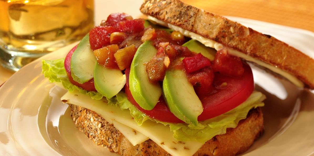 Spicy Cheese Sandwich