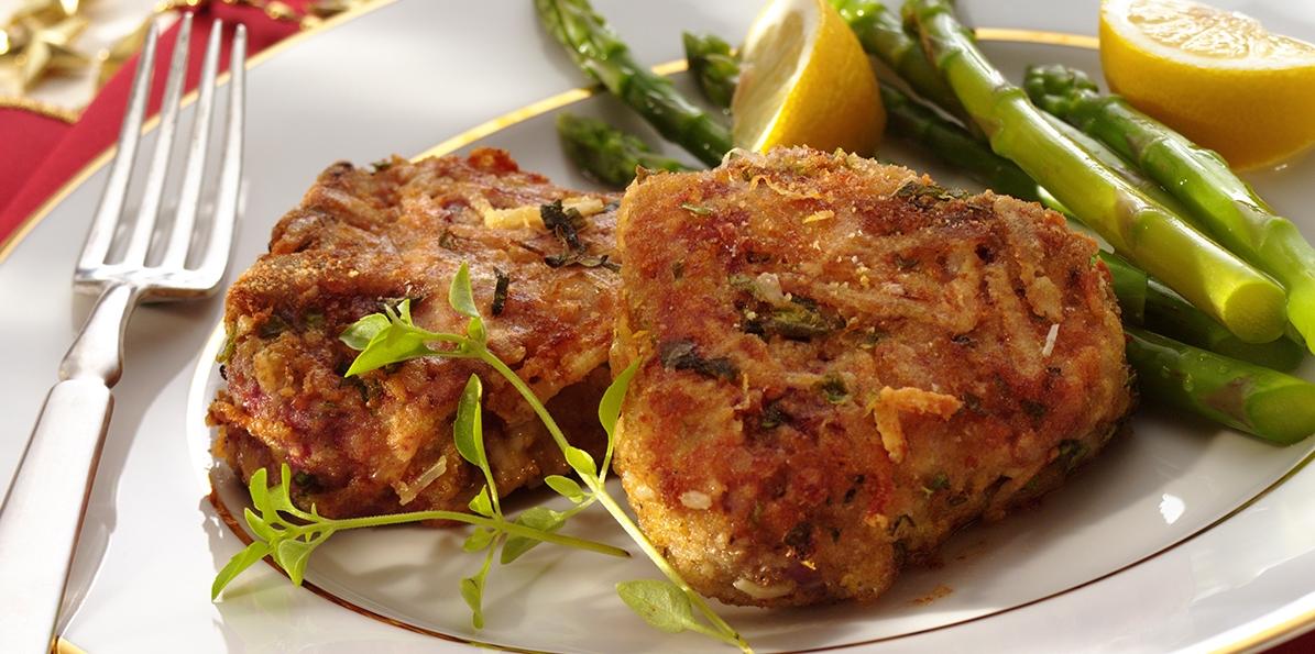 Parmesan Crusted Lamb Loin Chops