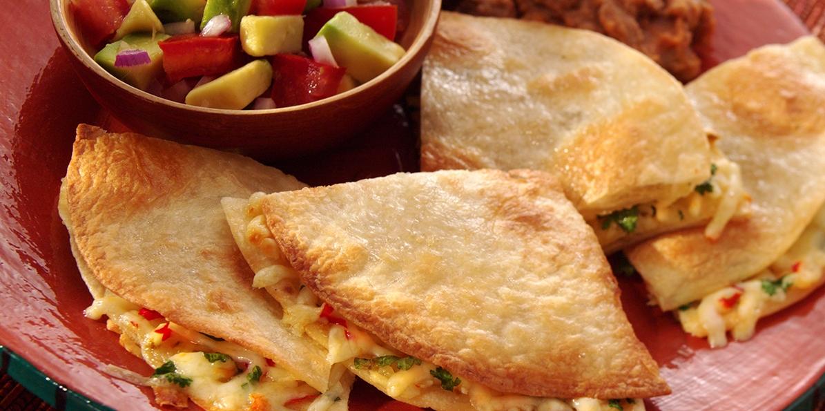Spicy Quesadillas