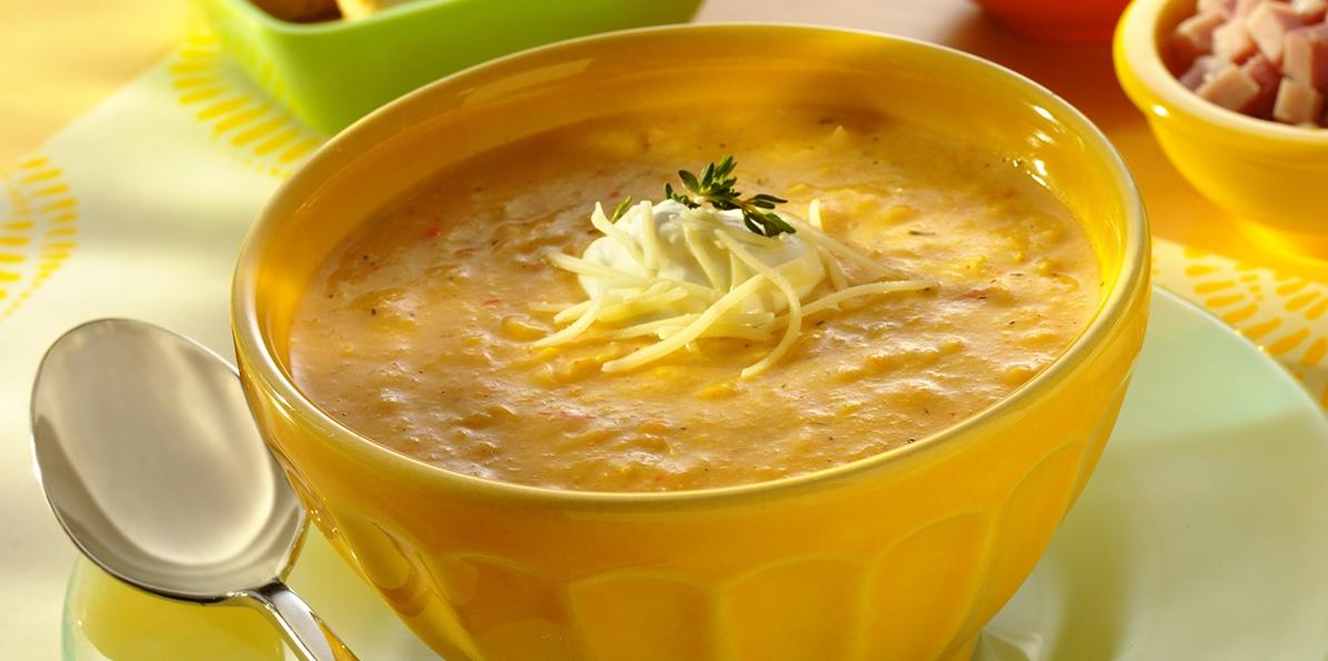 Artisan White Cheddar Corn Soup