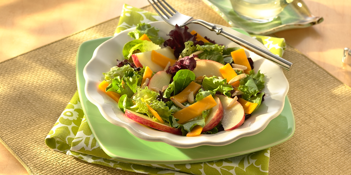 Apple, Almond & Cheddar Salad