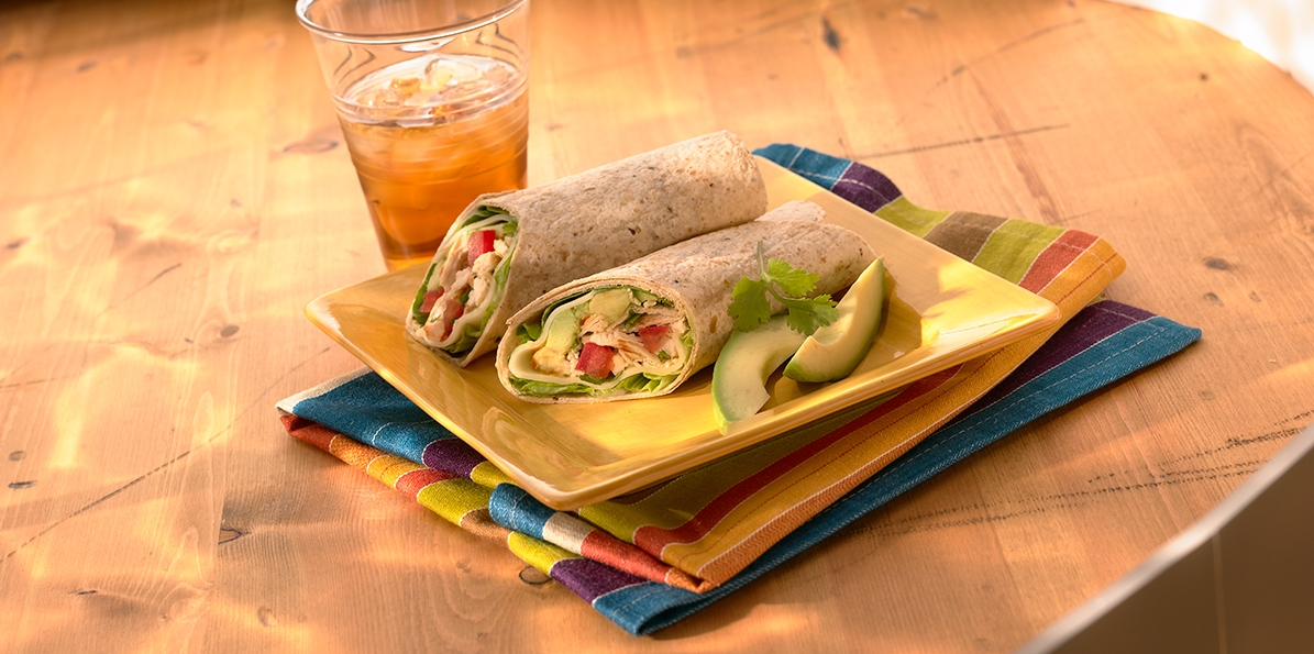 Avocado & Tomato Wrap