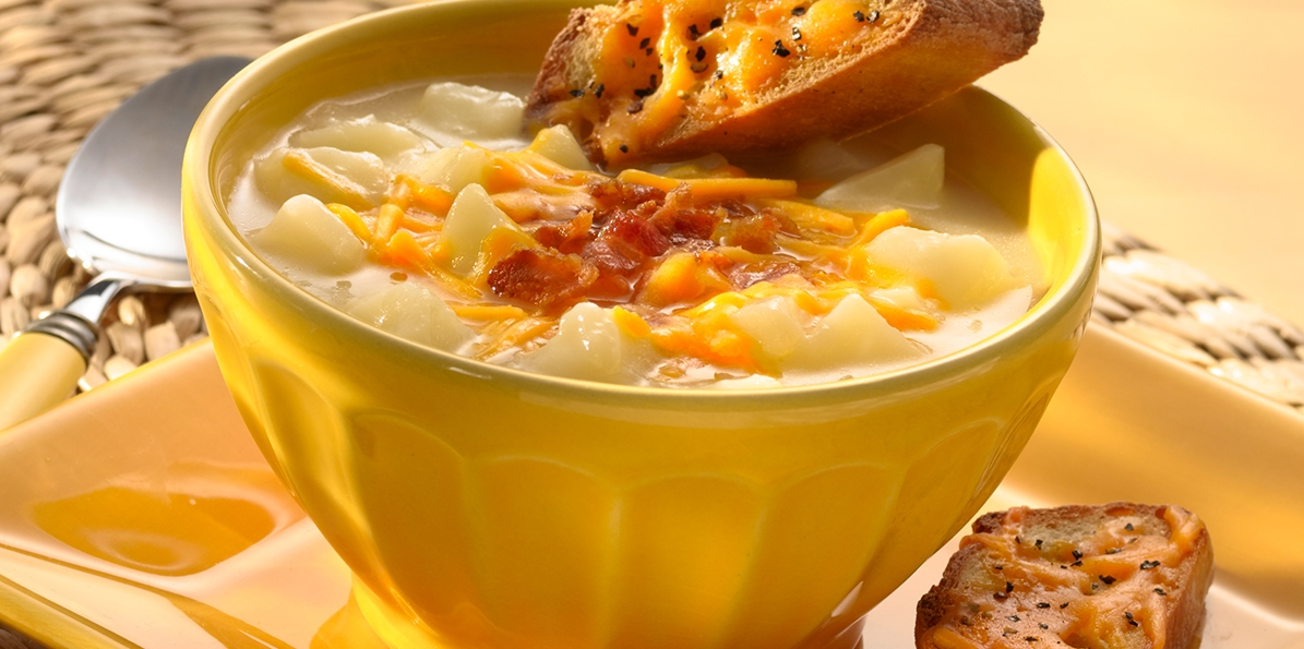 Potato & Cheddar Soup
