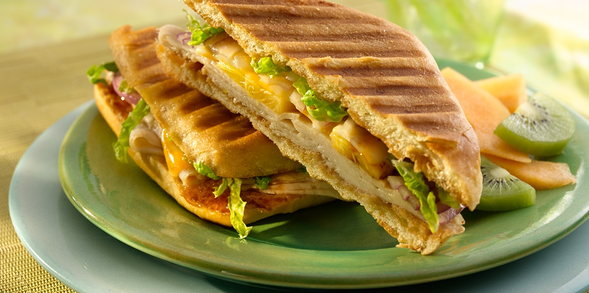 Pineapple Chicken Panini