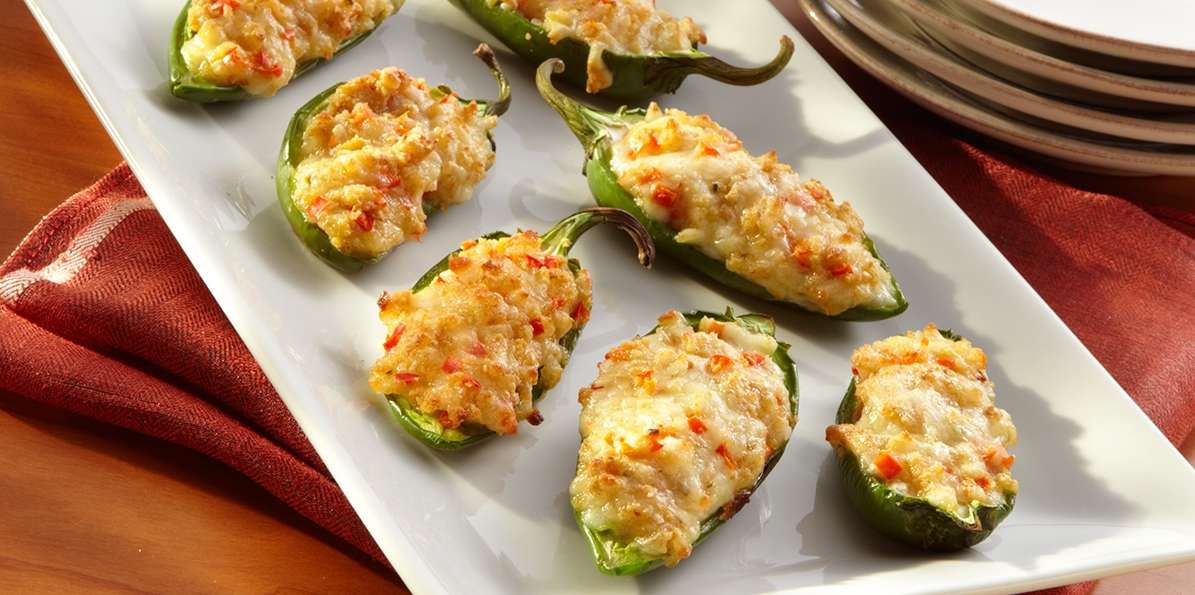 Pepper Jack Cheese Stuffed Jalapenos