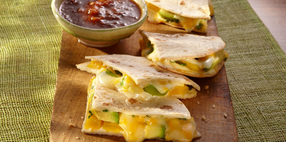 Mango & Avocado Quesadillas