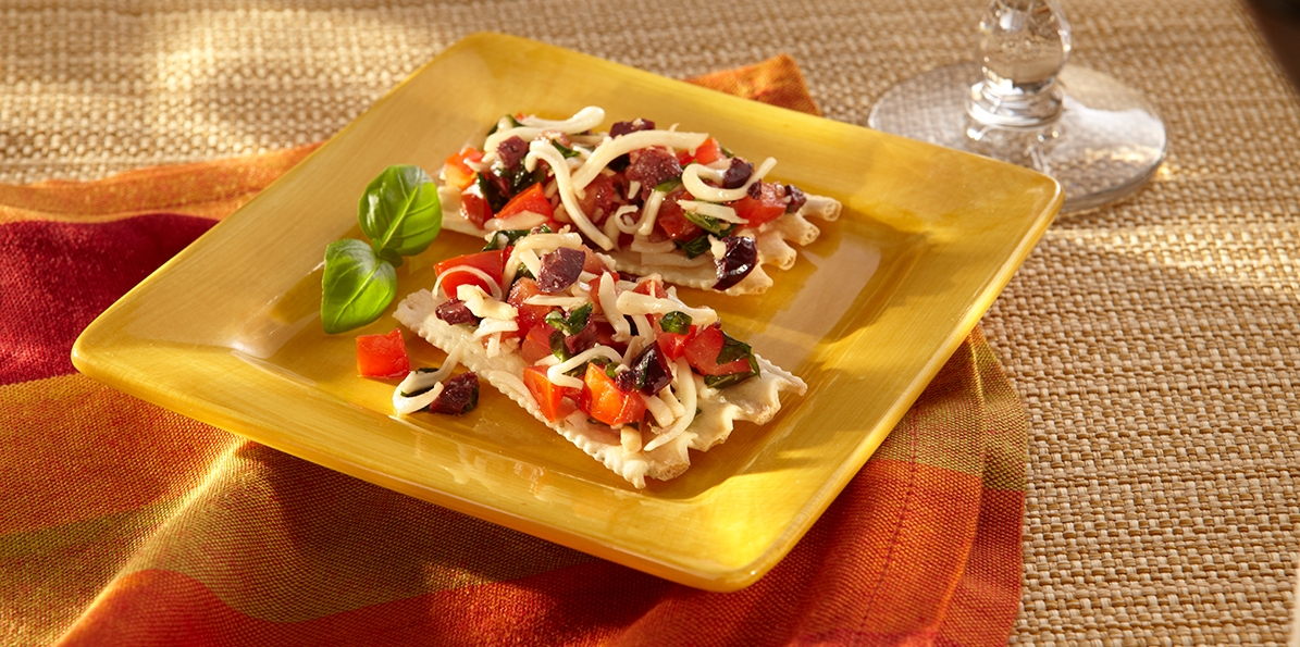 Four Cheese Italian Bruschetta