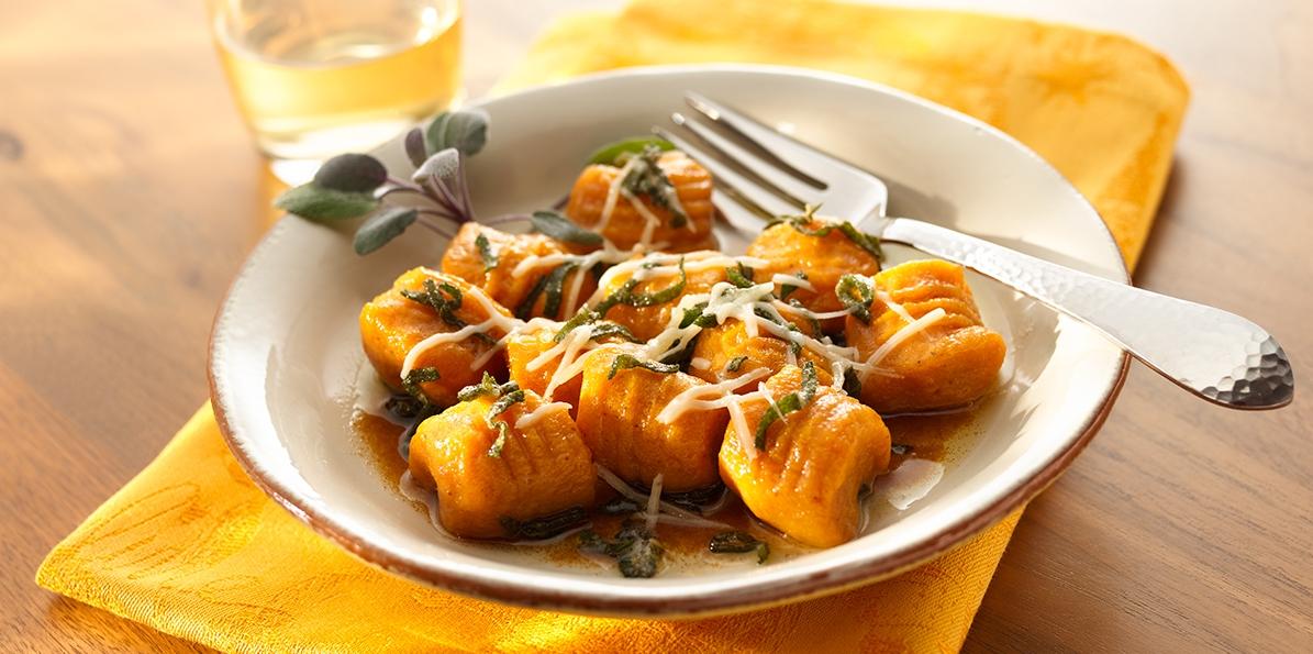 Parmesan Sweet Potato Gnocchi