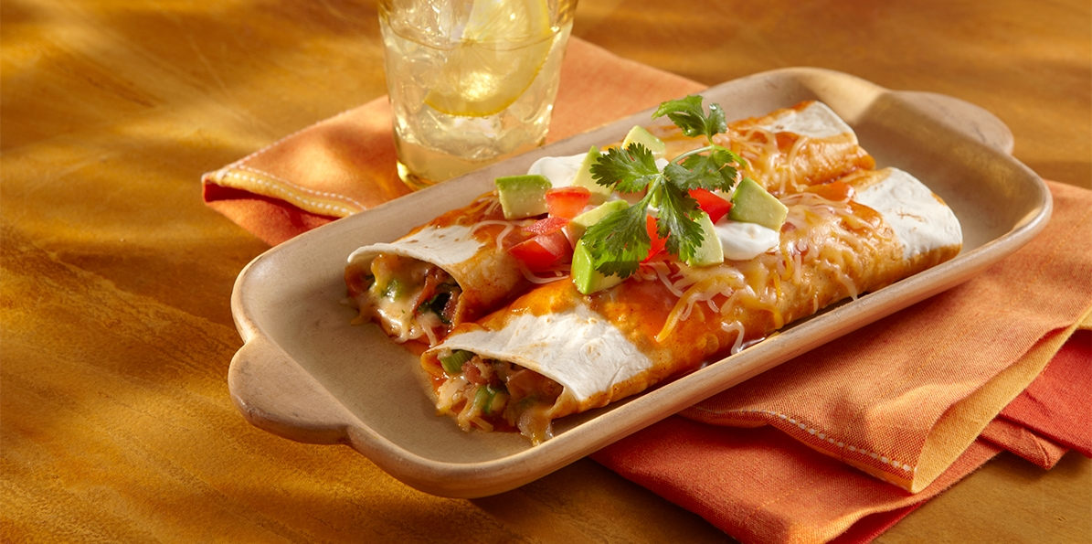 4 Cheese Enchiladas