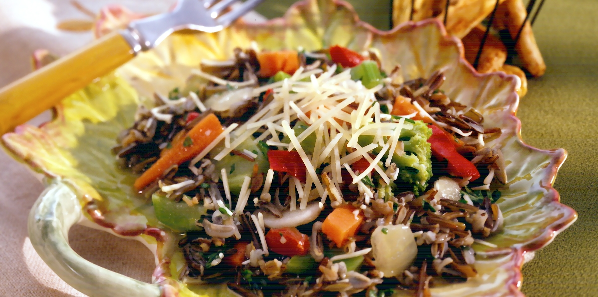 Wild Rice Veggie Salad