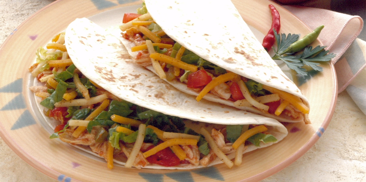 Soft Shell Chicken Tacos