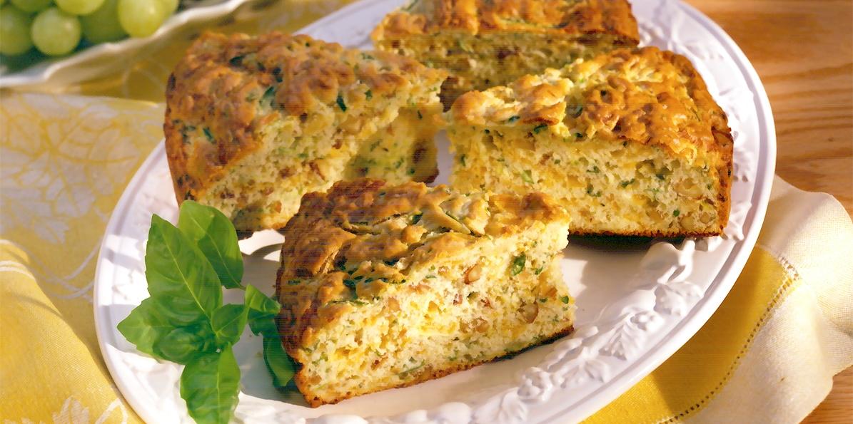 Zucchini-Cheddar Bread