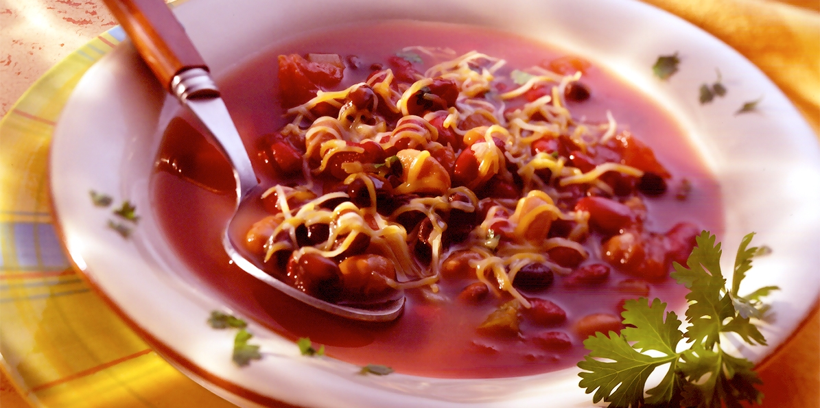 Hearty Three Bean Soup