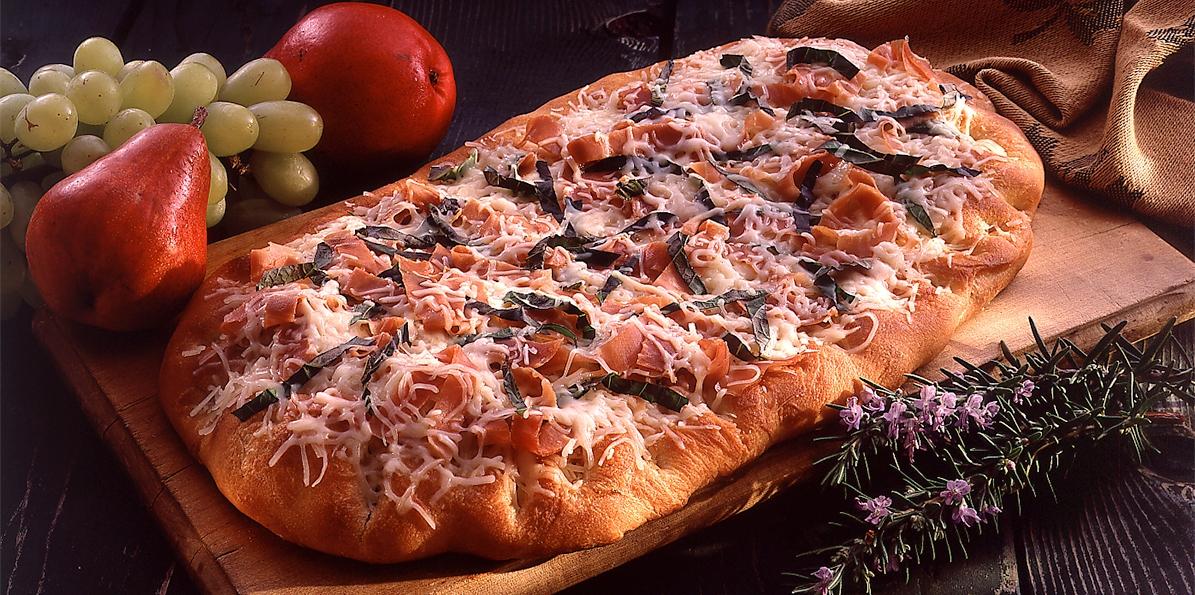 Cheese & Prosciutto Focaccia