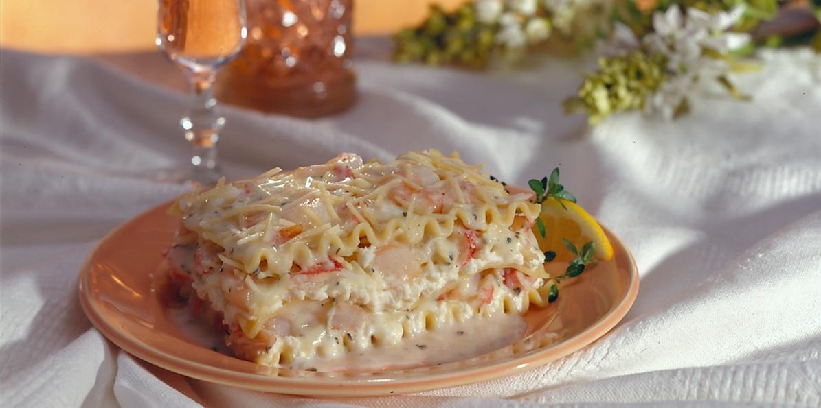 Seafood Lasagna