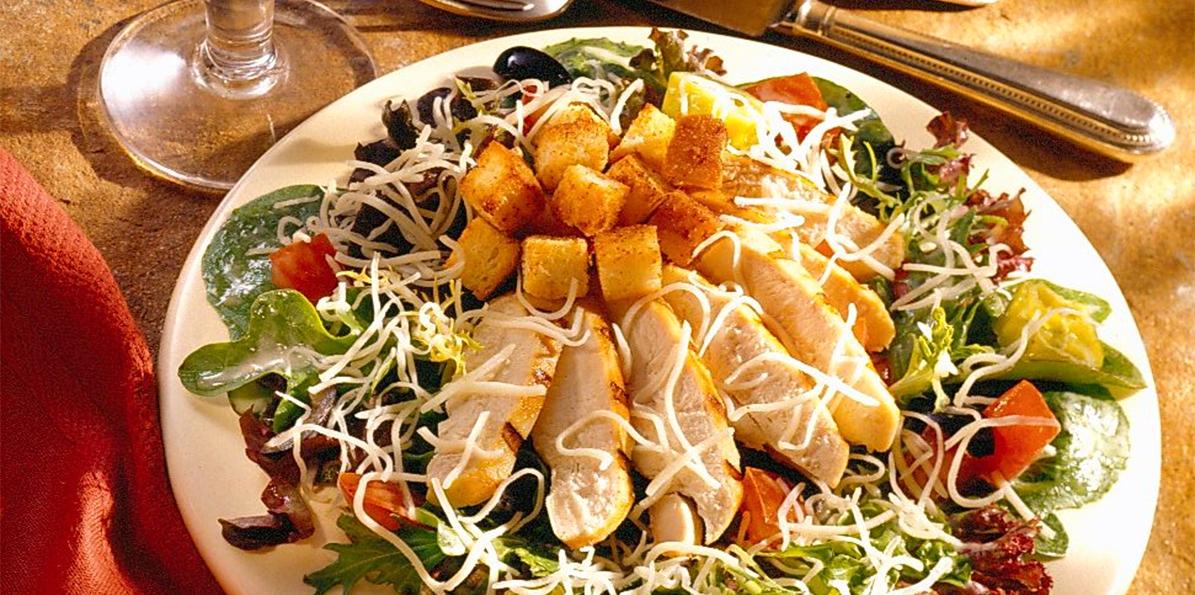 Grilled Venetian Chicken Salad