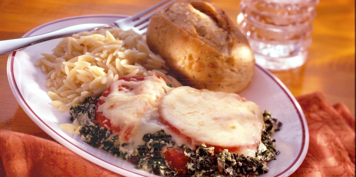 Spinach Tomato Casserole