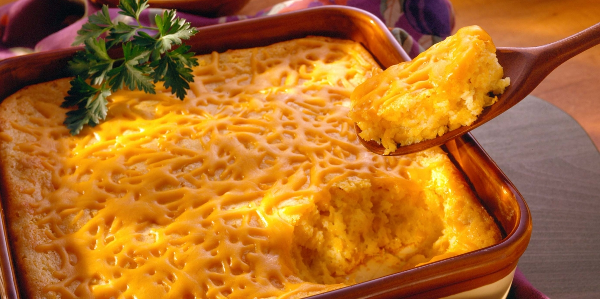 Cheddary Spoon Cornbread