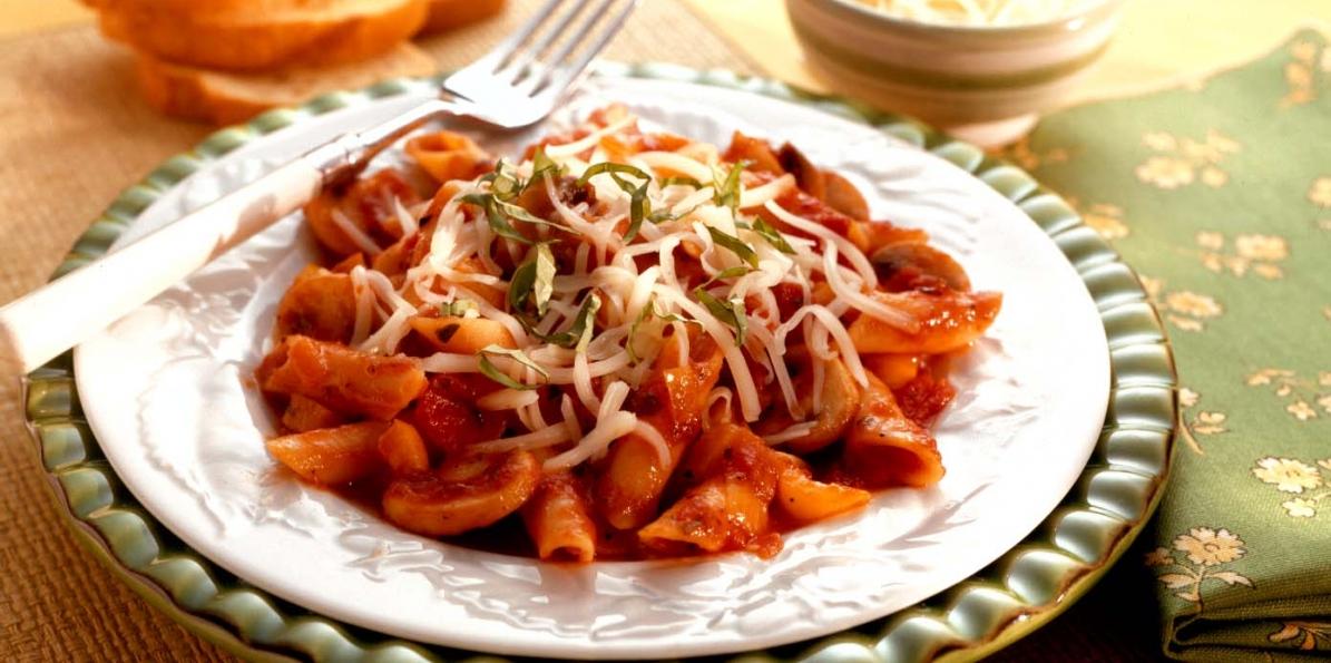 Italian Pasta and Veggie Skillet
