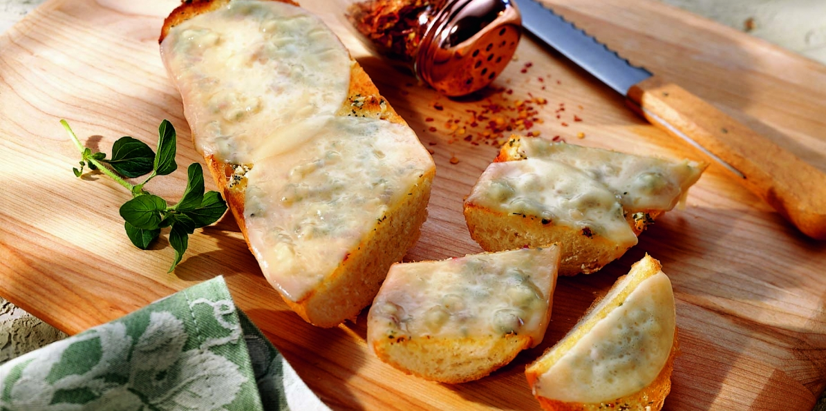 Provolone Garlic Bread