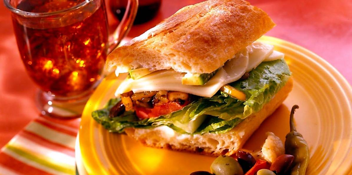 Portobello Provolone Sandwiches