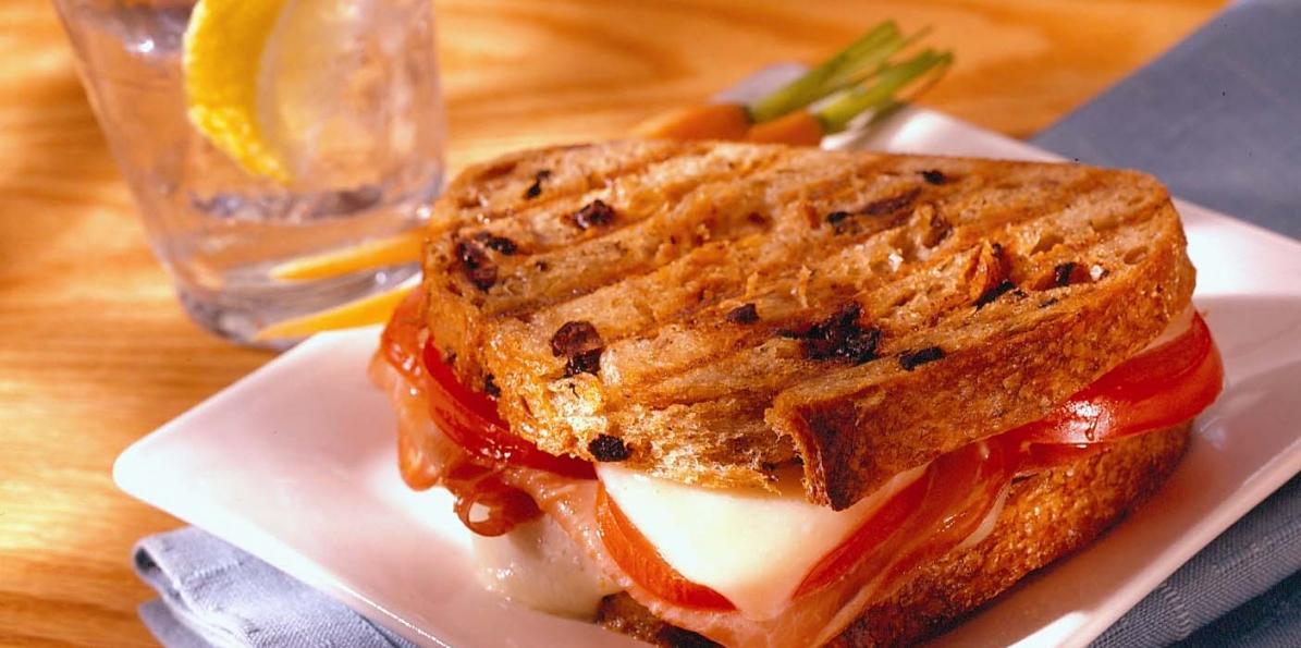 French-Style Ham & Swiss Panino