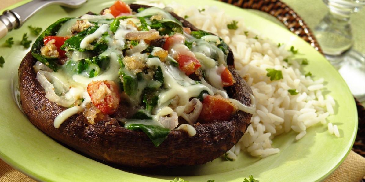 "Portobello Mushroom ""Burgers"""