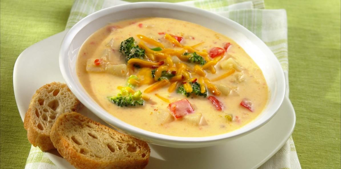 Broccoli & Chipotle Cheddar Chowder