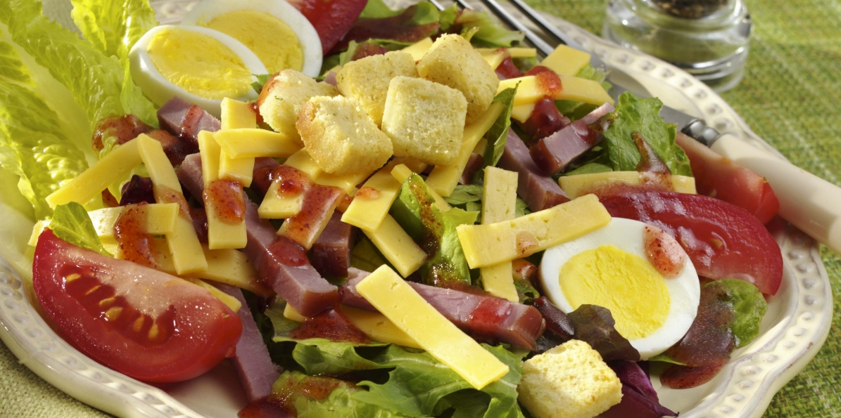Gouda & Black Forest Ham Chef's Salad