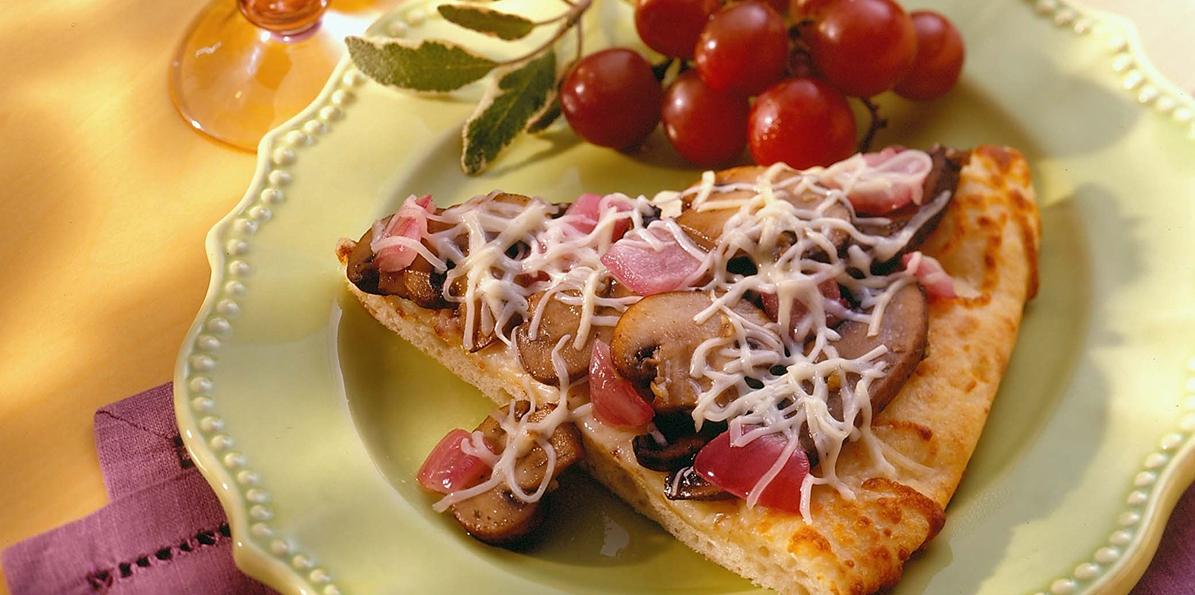Mushroom & Herb Flatbread