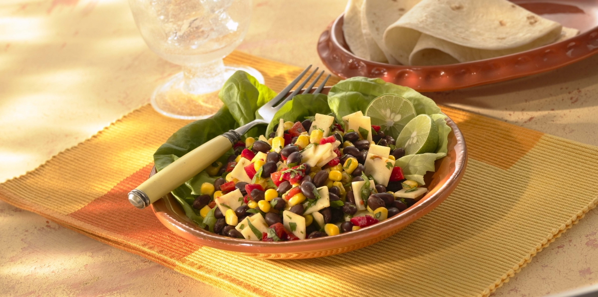 Spicy Black Bean & Corn Salad
