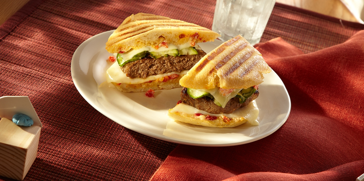 Korean Beef & Cheese Panini