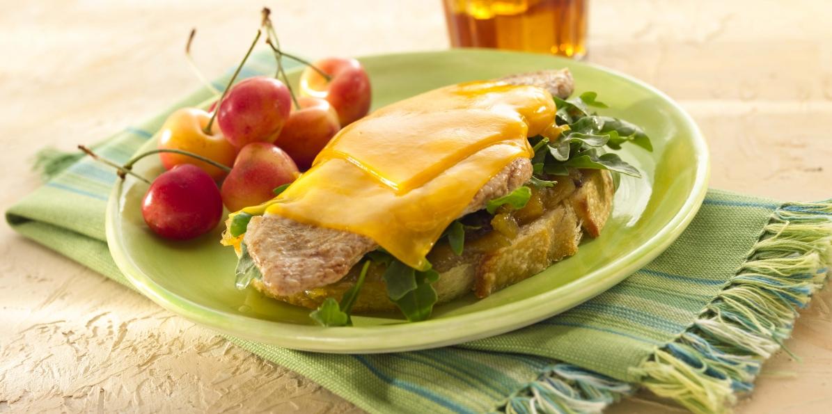 Pork Scaloppini Sandwiches