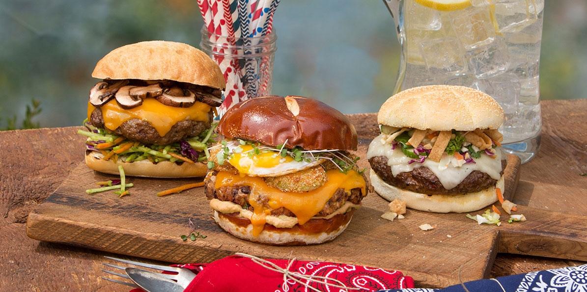 Super Deluxe Veggie Burger