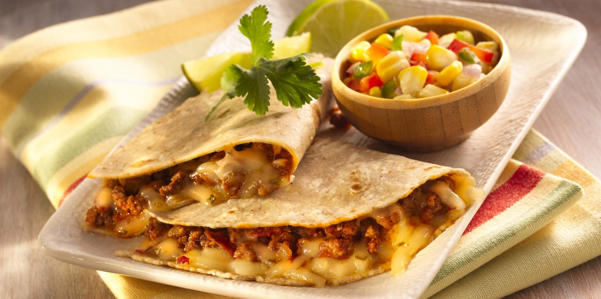 Gluten-Free Beef & Cheese Quesadillas