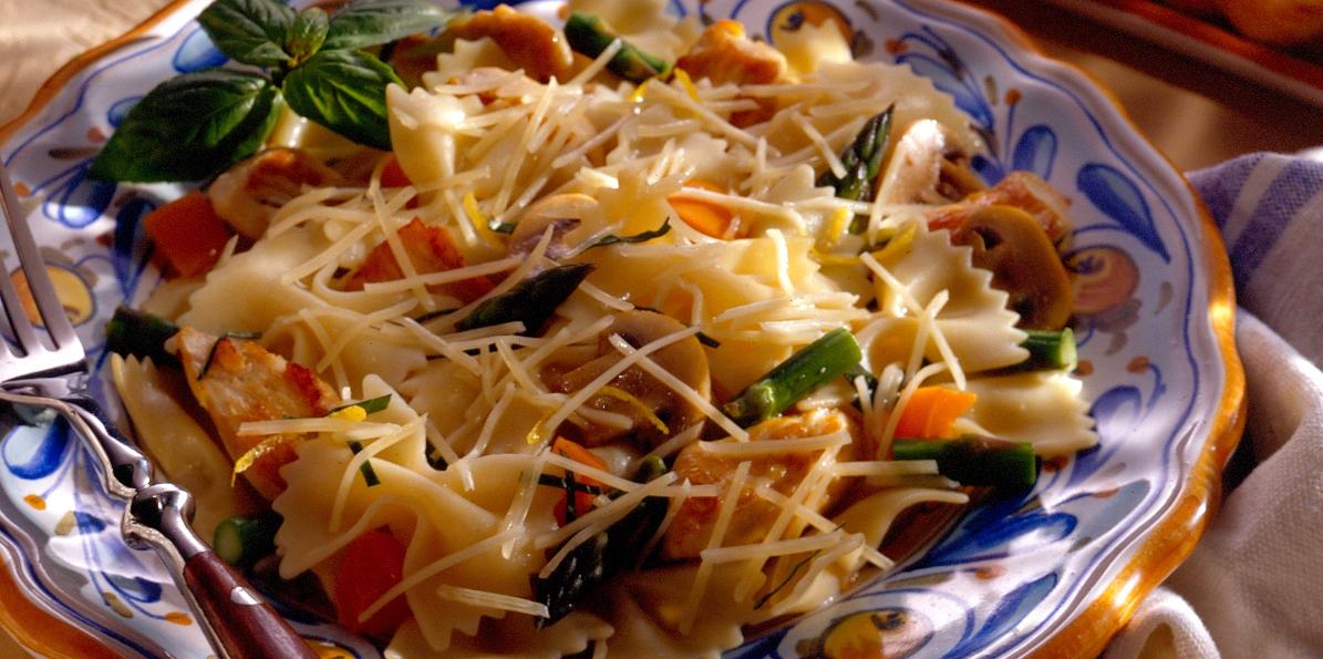 Lemon Chicken Pasta Recipe Sargento Shredded Parmesan Cheese